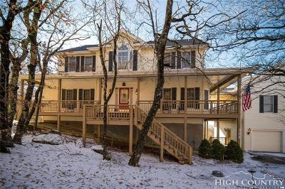 Beech Mountain NC Single Family Home For Sale: $799,900