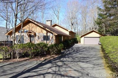 Linville Single Family Home For Sale: 308 Dam Trail