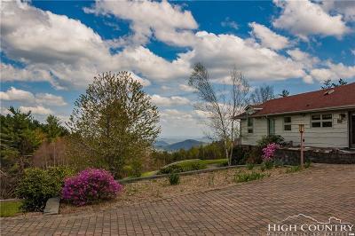 Ashe County Single Family Home For Sale: 735 B Pony Farm Road
