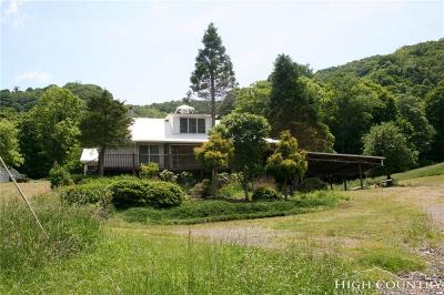 Ashe County Single Family Home For Sale: 415 Brenna Lane
