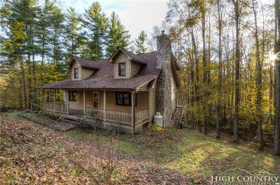 Boone NC Single Family Home For Sale: $299,000