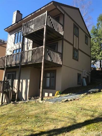 Sugar Mountain Condo/Townhouse For Sale: 300 Ridgeview Road #9 U-1