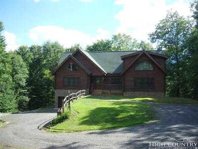 Ashe County Single Family Home For Sale: 663 Woods On The New River Road