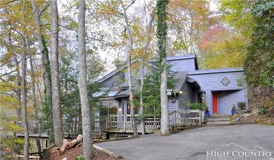 Banner Elk Single Family Home For Sale: 215 Dogwood Trail