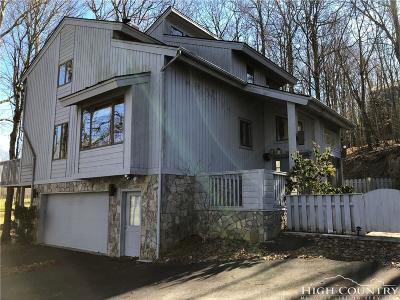 Beech Mountain Single Family Home For Sale: 104 Clubhouse Road