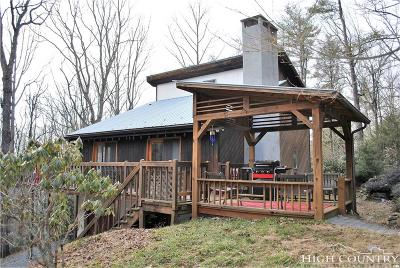 Watauga County Single Family Home For Sale: 3254 Clarks Creek Road