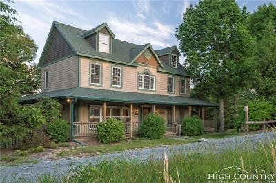 Watauga County Single Family Home For Sale: 401 Twin Ponds Road