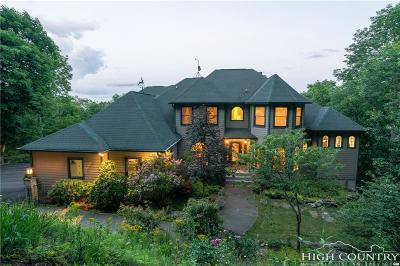 Watauga County Single Family Home For Sale: 614 Twin Ponds Road