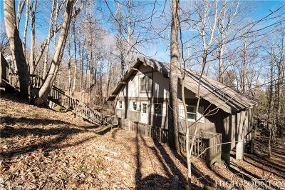 Beech Mountain Single Family Home For Sale: 140 W Pond Creek