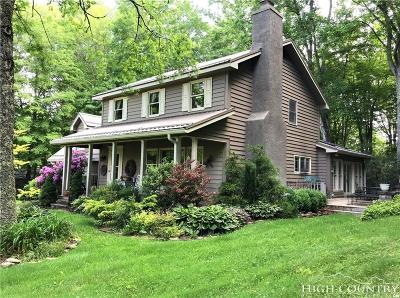 Watauga County Single Family Home For Sale: 473 Schaffer Road