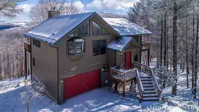 Beech Mountain Single Family Home For Sale: 304 Lakeledge Road