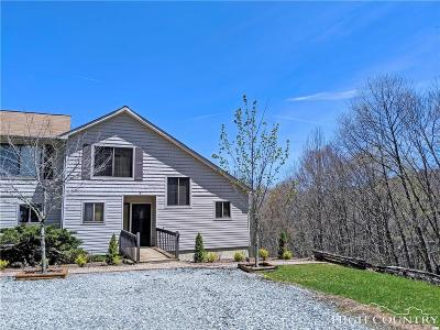 Beech Mountain Condo/Townhouse For Sale: 100 Spring Branch Road #A