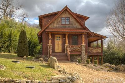 Avery County Single Family Home For Sale: 60 Eagle Cottage Lane