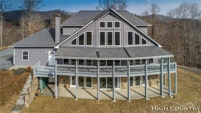 Ashe County Single Family Home For Sale: 182 River Hills Road