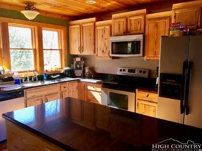 Beech Mountain Single Family Home For Sale: 124 W Blueberry Road