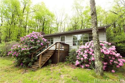 Boone NC Single Family Home For Sale: $169,000
