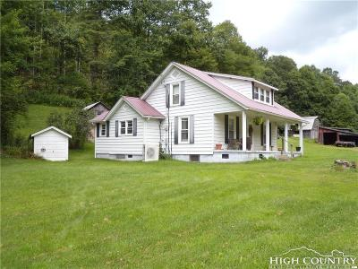 Boone NC Single Family Home For Sale: $167,900