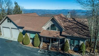 Beech Mountain Single Family Home For Sale: 202 Pinnacle Ridge Road