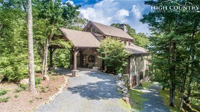 Banner Elk Single Family Home For Sale: 536 Lodge Woods Trail