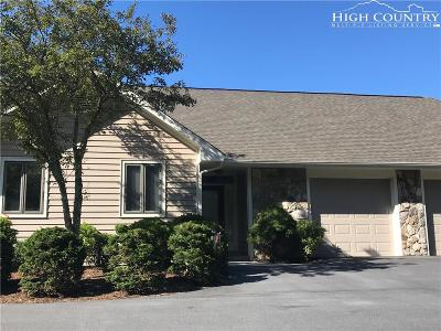Ashe County Condo/Townhouse For Sale: 228 Fairway View Place