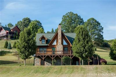 Ashe County Single Family Home For Sale: 411 Canawhay Drive