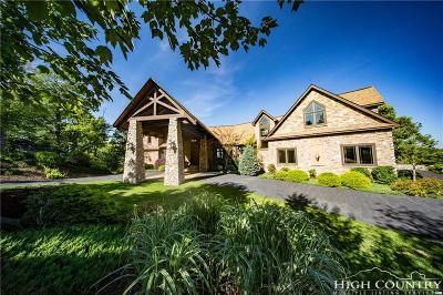 Watauga County Single Family Home For Sale: 282 Ledgestone Lane