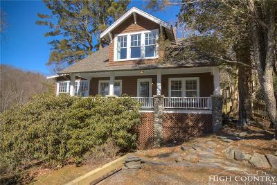 Blowing Rock Single Family Home For Sale: 250 Globe Road #Lot B
