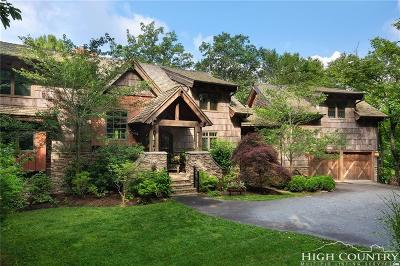 Blowing Rock Single Family Home For Sale: 160 Tanglewood Trail