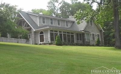 Blowing Rock Single Family Home Under Contract - Don't Show: 743 Yonahlossee Road