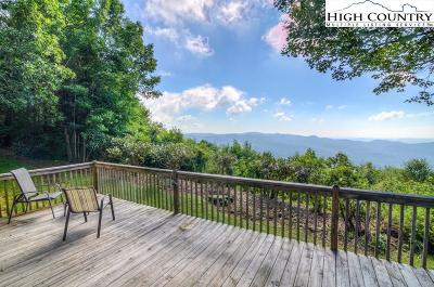 Blowing Rock Single Family Home For Sale: 243 Misty Ridge Lane