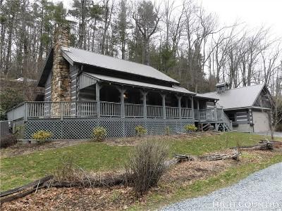 Boone Single Family Home For Sale: 153 Goshen Creek Road