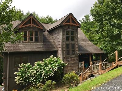 Blowing Rock Single Family Home For Sale: 2150 Flat Top Road