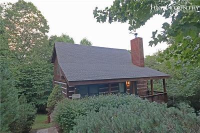 Banner Elk Single Family Home For Sale: 215 Hawks Bill