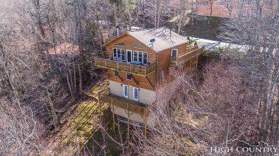 Beech Mountain Single Family Home For Sale: 217 Charter Hills Road