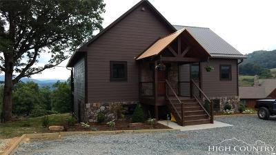 Watauga County Single Family Home Under Contract - Show: 197 Apache Lane