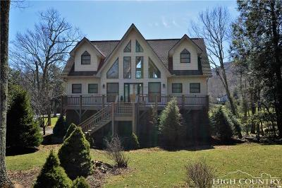 Beech Mountain Single Family Home For Sale: 100 Hilltop Road