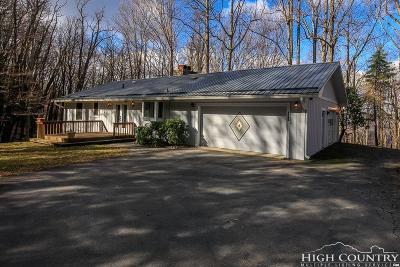 Watauga County Single Family Home For Sale: 786 Will Isaacs Road