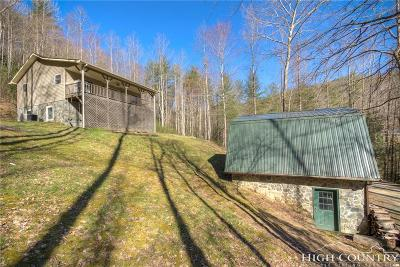 Deep Gap Single Family Home For Sale: 15595 S Us 421 Highway