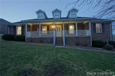 Todd Single Family Home Under Contract - Show: 8663 Nc Highway 194
