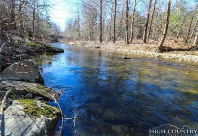 Avery County, Watauga County Residential Lots & Land For Sale: Lot 8 East Rivers Edge
