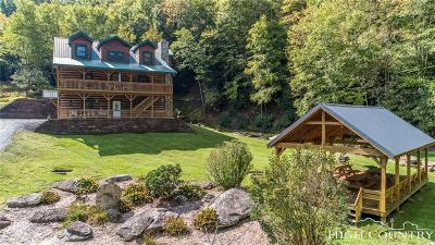 Banner Elk Single Family Home For Sale: 190 McGuire Mountain Road