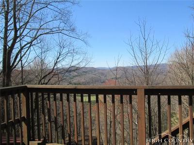 Ashe County Single Family Home For Sale: 1504 Poplar Trail Road