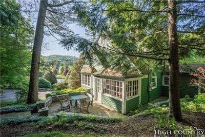 Blowing Rock Single Family Home Under Contract - Don't Show: 313 Edith Lane