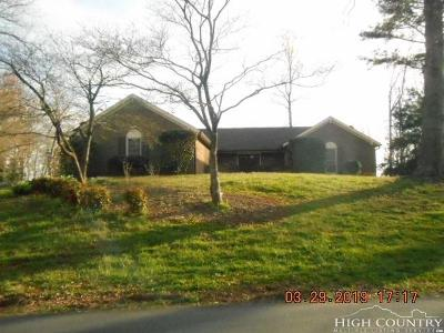 Alexander County, Burke County, Caldwell County, Ashe County, Avery County, Watauga County Single Family Home Under Contract - Show: 6159 Mountainside Drive