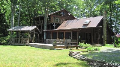 Banner Elk Single Family Home For Sale: 850 Bluestone Wild Road
