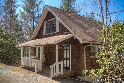 Blowing Rock Single Family Home Under Contract - Show: 119 Old Boone Road