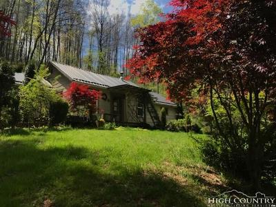 West Jefferson Single Family Home For Sale: 8550 Nc Highway 163