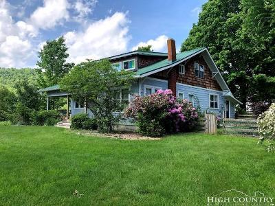 Watauga County Single Family Home For Sale: 121 Clay Wilson Drive