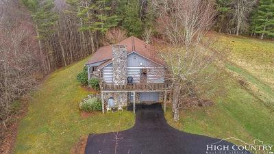 Ashe County Single Family Home For Sale: 5585 Old Hwy 16 Highway
