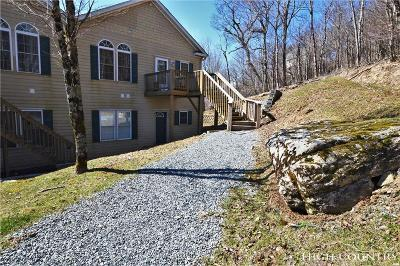 Avery County Condo/Townhouse For Sale: 3441 S Beech Mountain Parkway #F3